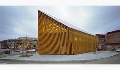 Vennesla Library - outside