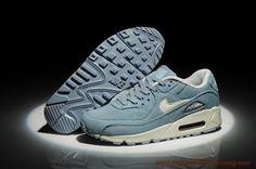 Uomo-Donna Denim Light Blu 325213-168 Nike Air Max 90 scarpe da calcetto migliori