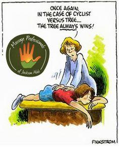 Massage humor...