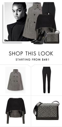 """SHOP - Sands & Hall"" by ladymargaret ❤ liked on Polyvore featuring Victoria Beckham, Roland Mouret and Yves Saint Laurent"