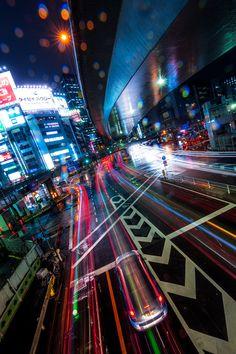 Vanishing Point, Shibuya, Tokyo, Japan