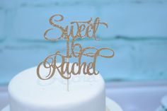 Personalized Sweet 16 Cake topper by RusticDaisyDesigns on Etsy Sweet 16 Birthday, 16th Birthday, Birthday Cake, Sweet 16 Cakes, Cake Toppers, Handmade Gifts, Etsy, 16th Birthday Cakes, Kid Craft Gifts