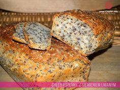Pieczenie chleba i inne przepisy: Chleb pszenny z siemieniem lnianym