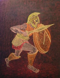 Waldorf ~ 5th grade ~ Ancient Greece ~ Spartans ~ chalkboard drawing