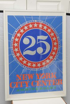 Robert Indiana 25 NYC Poster, USA, 1968 image 2