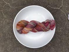Wild Child on fingering merino nylon. Hand dyed, indie dyed yarn. www.prosperyarn.com Wild Child, Hand Dyed Yarn, Finger, Indie, Tableware, Dinnerware, Fingers, Tablewares, Dishes