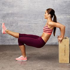 Get strong, sculpted arms: Bench Dip