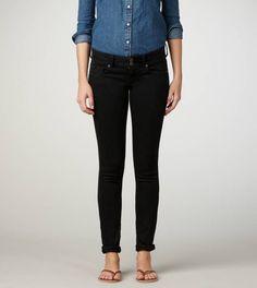 Black Crop Jean
