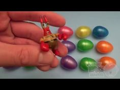 Learn Colours with Surprise Nesting Eggs! - BEST of Baby Big Mouth Playl...