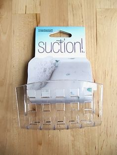 Sew Many Ways...: Organizing Ideas For Suction Cup Soap Dish...