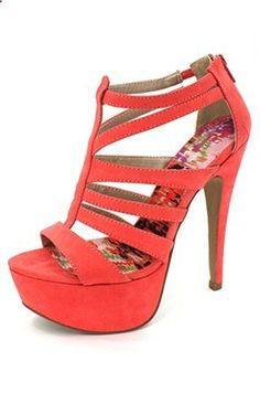 Loove the red heels to go wit the red dress for valentines day