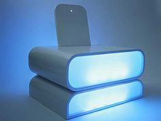 Futuristic luxury Cool Mood Chair with Integrated Lighting