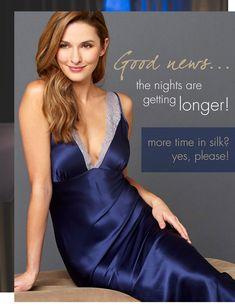 Satin Nightie, Silk Nightgown, Satin Sleepwear, Satin Lingerie, Satin Pajamas, Satin Gown, Satin Slip, Satin Dresses, Pyjamas