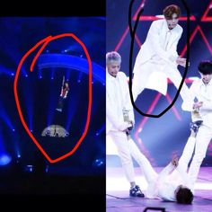 EXO SHOWTIME Luhan is afraid of heights CONCERT Luhan does not afraid of height Luhaen is become more manly tho XD pic.twitter.com/NwjSMkgTgm