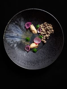 © Signe Birck. Dish by chef Daniel Burns at Luksus. Exclusive interview with the photographer here: http://theartofplating.com/editorial/spotlight-photographer-signe-birck/