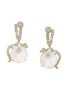 bcbg Vintage-Inspired Gemstone Earrings