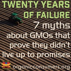 When the Biotech Giants first introduced GMOs they made many promises about…