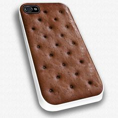 Ice Cream Sandwich iPhone Case. I like this, but I would constantly be craving ice cream.