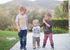 Little boys in Joggers - Boys Ahoy