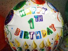 Best 1th birthday ever!