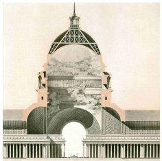 etienne louis boullee structure composition artwork critique