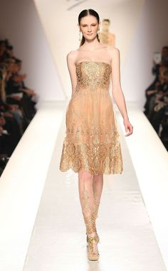 Very Indian Inspired - Fausto Sarli Spring 2012 Haute Couture Collection