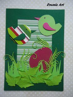 Drumla Art: kartka na Wielkanoc