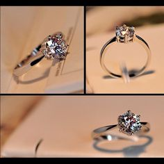 Silver CZ Diamond Solitaire Ring Brand new Price firm No trades I do bundle Buy 3 items or more get 15% off order      Victoria Wieck Designer     Stone: Cubic Zirconia     Metal: 925 Sterling Silver      Setting: Prong     Carat Weight: 0.90ct     Cut: Round Brilliant   Sizes: 4.5, 5.5, 6, 6.5, 7, 7.5, 8, 8.5, 9, 9.5  Please comment size when buying thank you.                          ~Ring box included~ Jewelry Rings