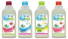 Our much-loved washing up liquid, now in four fragrances that sound good enough to eat - including our latest, Pomegranate and Lime.     Gets dishes sparkling clean, naturally.     And remember, more bubbles don't equal more cleaning power!