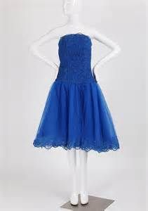 royal blue strapless dress - Yahoo Image Search Results
