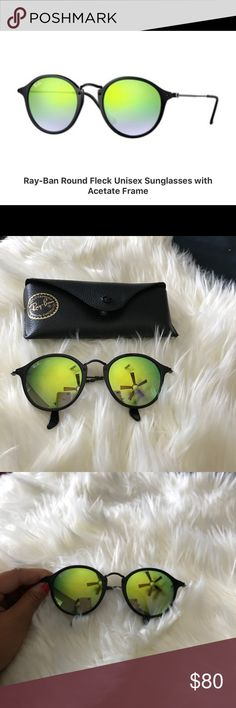 66f2a5b5d4d9b Rayban round sunglasses. Unisex. Rayban round sunglasses with acetate  frame. Great condition. Ray BansÓculos De Sol RedondosArredondamentoUnissexo