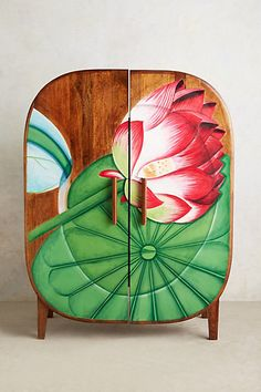 Lotus armoire from anthropology