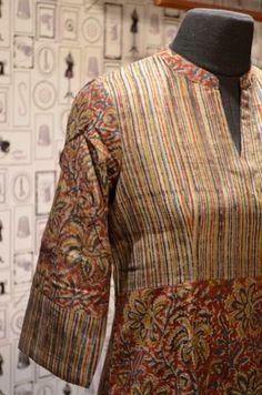 Simple Kurta Designs, Kurta Designs Women, Blouse Designs, Dress Designs, Salwar Pattern, Kurta Patterns, Churidar Designs, Kurta Neck Design, Collor