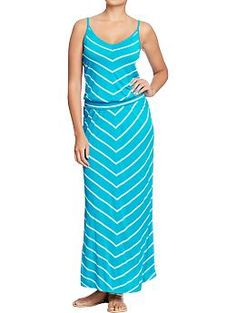Really cute chevron maxi dress from Old Navy! On sale too!!!