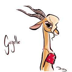 """Gazelle """"Zootopia"""""""