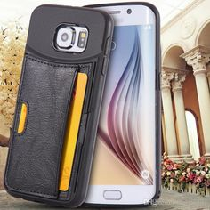 Htc Cell Phone Cases For Iphone 6/6plus Samsung Galaxy S6/S6 Edge Ultrathin Slim Luxury Leather Retro Case Retro Back Card Holder Cover Dhl Free Glitter Cell Phone Cases From Mayiandjay, $3.23