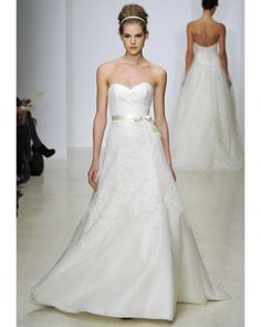 Classic wedding gown Spring 2013 Christos