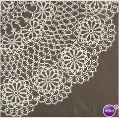 Tatting Doily Patterns  | Tat Doily Pattern Circle of Flowers Tatted Doily on eBid United States. This is for the pattern, not the doily. Cost of pattern to US is $4.60.