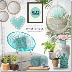 Relax By Justlovedesign On Polyvore Featuring Interior Interiors Interior Design Home Home