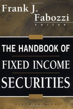 Book: The Handbook Of Fixed Income Securities 6Th Edition