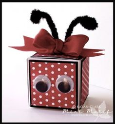 Special Ladybug Gift Box For Children