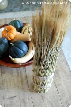 dried wheat bundle tutorial