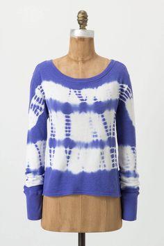 Dyed Tulip Sweatshirt - Anthropologie.com