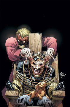 El #Joker regala una sonrisa a #Batman en esta portada de Andy Kubert de #DC #Comics