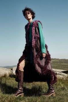 Harper's Bazaar UK September 2017 Iris Strubegger photographed by Agata Pospieszynska | fashion editorial fashion photography