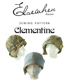 SEWING PATTERN Clementine by ElsewhenMillinery on Etsy