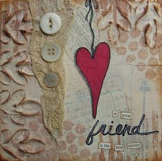 the best mirror  6 x 6 Original Collage on by collageartgirl, $50.00