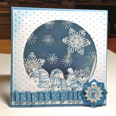 Ann Craig - Stampin' Up! Independent Demonstrator: Stampin' Up! Snowman Christmas Card