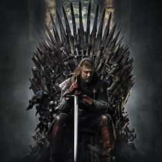 A great poster of Ned Stark (Sean Bean) from Season 1 of Game of Thrones! You win or you die. Winter is coming so check out the rest of our fantastic selection of Game of Thrones posters! Need Poster Mounts. Ned Stark, Eddard Stark, Game Of Thrones Saison, Game Of Thrones Series, Hbo Game Of Thrones, Game Of Thrones Synopsis, Movies And Series, Hbo Series, Movies And Tv Shows