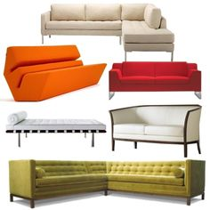 A mix of sofas - which one fits your style?